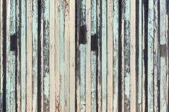 Backg коричневой и зеленой текстуры предпосылки деревянной планки винтажное деревянное стоковое фото
