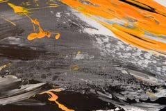 Backg abstrato pintado acrílico Fotos de Stock Royalty Free