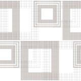 Backg alla moda geometrico ornamento astratto senza cuciture del modello del retro illustrazione di stock