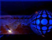 Backg astratto alta tecnologia dinamico Fotografia Stock Libera da Diritti