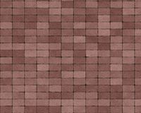 Backg pavimentado pequeno do tijolo das pedras Ilustração do Vetor