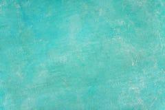 Backg verde y ciánico del extracto de la textura de la ilustración de la pared del color en colores pastel imagen de archivo libre de regalías
