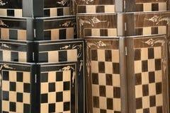 Backgammon Stockfoto