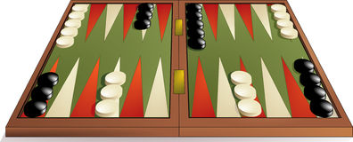 Backgammon Fotos de Stock Royalty Free