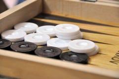 backgammon Arkivbilder