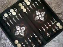 backgammon fotos de stock