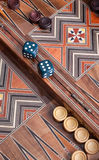 Backgammon Stock Images