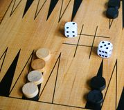Backgammon Stock Photography