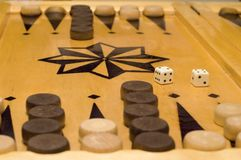 backgammon arkivfoto