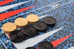 Backgammon imagenes de archivo