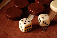 Backgammon Foto de Stock Royalty Free