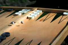 Backgammon Stock Photo