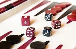 Backgammon Stock Foto's