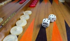 backgammon Arkivbild