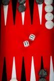 Backgammon stock afbeeldingen
