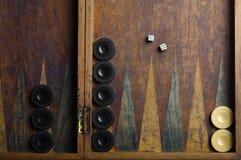 Backgammon Royalty-vrije Stock Afbeelding