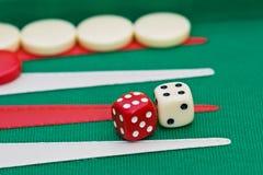 backgammon Obraz Stock