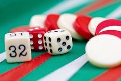 backgammon Obrazy Stock