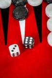 backgammon royalty-vrije stock foto's