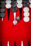 backgammon royalty-vrije stock foto