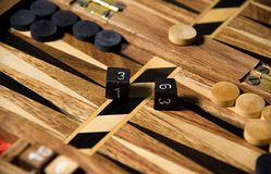 backgammon Royaltyfri Bild