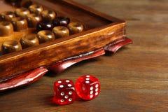 backgammon immagini stock