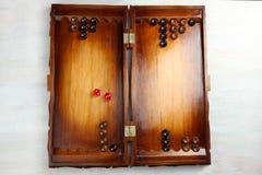 backgammon fotografia stock libera da diritti