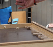 backgammon Immagine Stock