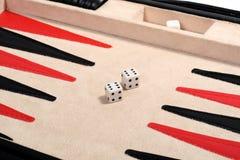 Backgammon. Royalty Free Stock Photography
