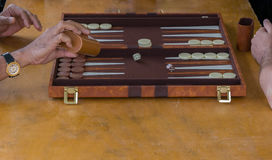backgammon Lizenzfreies Stockfoto