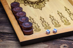 backgammon immagini stock libere da diritti