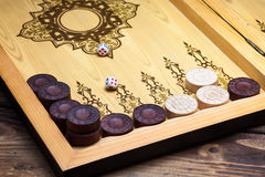 backgammon Stockbilder