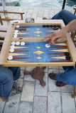 Backgammon Stockfoto