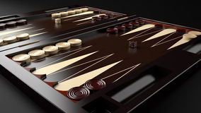 Free Backgammon Board Stock Image - 50693471