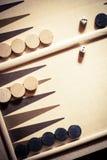 Backgammon board detail royalty free stock photos
