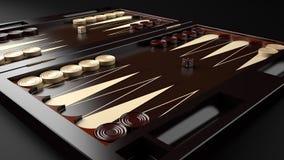 Backgammon Board vector illustration