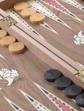 Backgammon bordlägger Royaltyfria Bilder