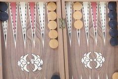Backgammon bordlägger Arkivbild