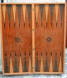Backgammon box Royalty Free Stock Image
