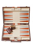 Backgammon set Royalty Free Stock Images