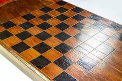 backgammon Tavola reale fatta a mano immagine stock libera da diritti