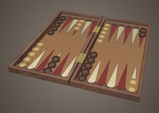 Free Backgammon Wooden Tavli Board Game Royalty Free Stock Photo - 77142075