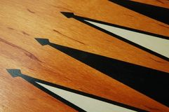 backgammon zarządu Obrazy Royalty Free