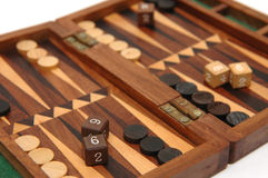 Backgammon1 Stock Afbeeldingen