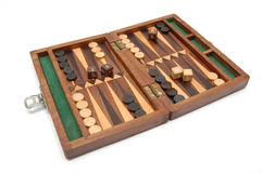 Backgammon2 Royalty Free Stock Photo
