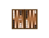 backgammonillustration Arkivbild