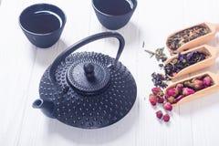 Чай традиционного китайского травяной стоковая фотография