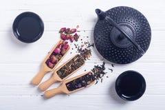 Чай традиционного китайского травяной стоковые фотографии rf