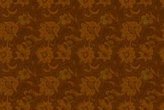 Backgorund sans joint : rétro texture florale Photographie stock libre de droits