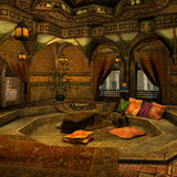 Backgound árabe Fotografía de archivo